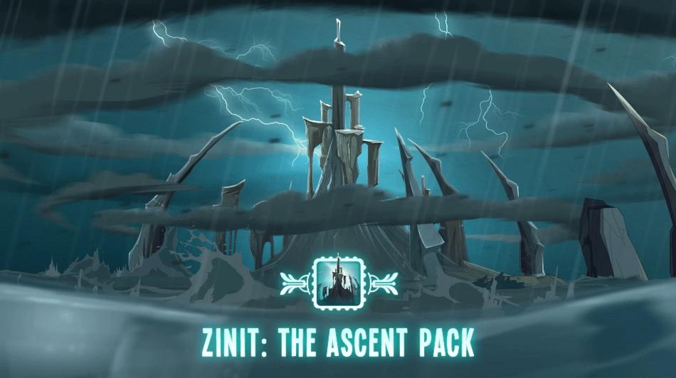 新的pack ZINIT: THE ASCENT PACK