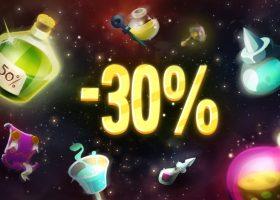 【商城消耗品30%OFF】限时贩卖